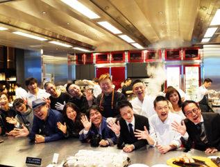 modeアンバサダー大木淳夫氏主催の出版記念パーティーで弊社クライアントの商品サンプリングを行いました